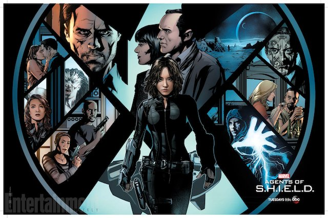 Behold, the new Agents of SHIELD WonderCon poster.