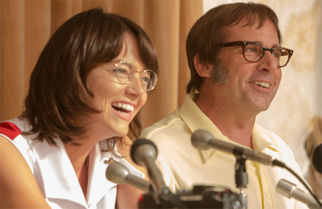 First Battle of the Sexes Photo as Filming Begins