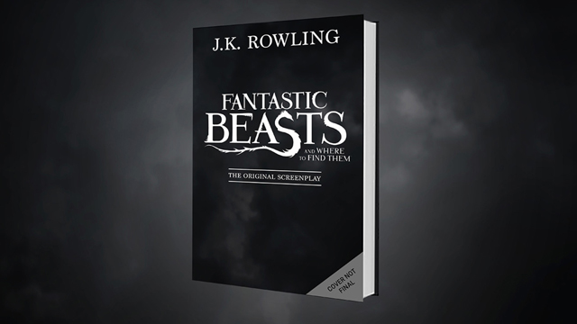 J.K. Rowling's Fantastic Beasts Screenplay to Be Published by Scholastic