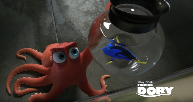 Finding Dory Video Introduces Us to Hank, Pixar's Oldest Character