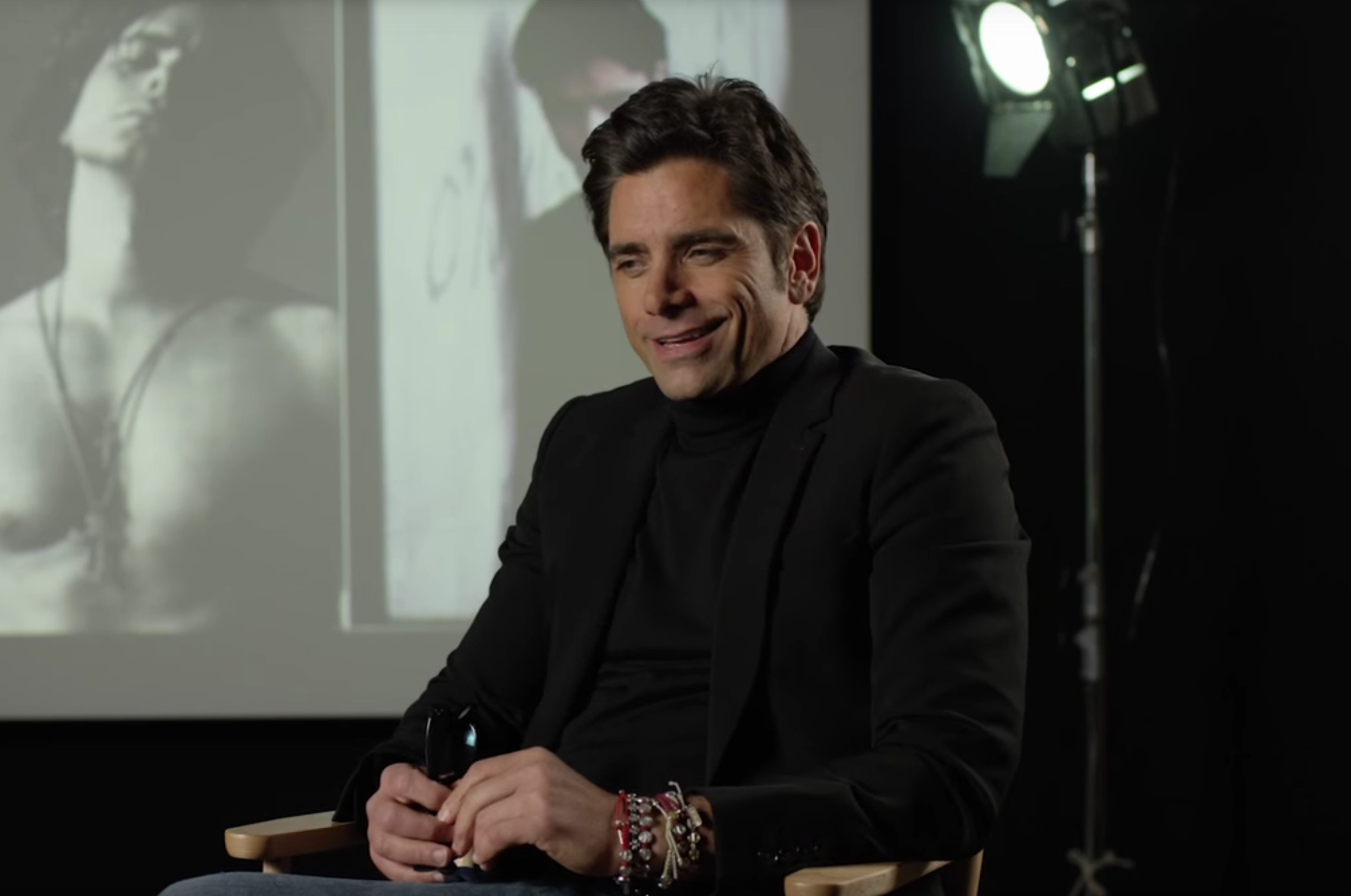 John Stamos is John Stamos in the new Netflix Original movie, John Stamos: A Human, Being. Check out the trailer right here at ComingSoon.net.
