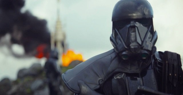 The first Rogue One footage is here!