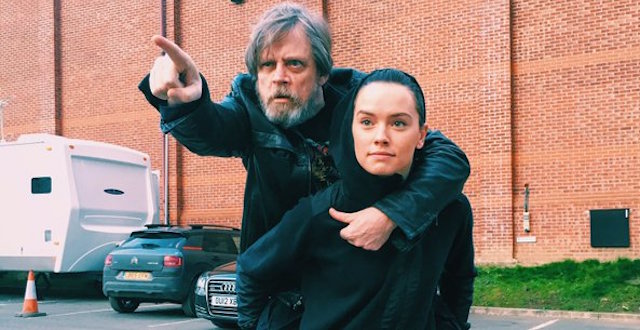 Check out Daisy Ridley's Jedi Training.