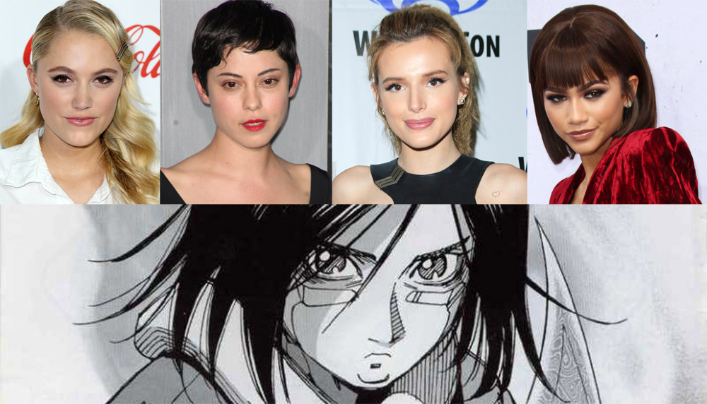 Who will be the Alita: Battle Angel star?