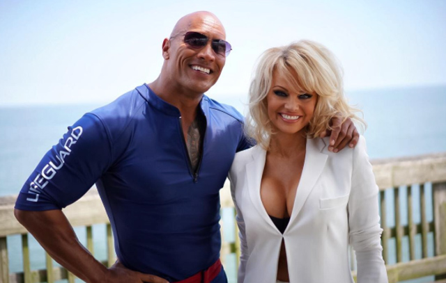 Pamela Anderson Joins the Baywatch Movie Cast
