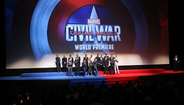 Over 200 Photos from the Captain America: Civil War Premiere