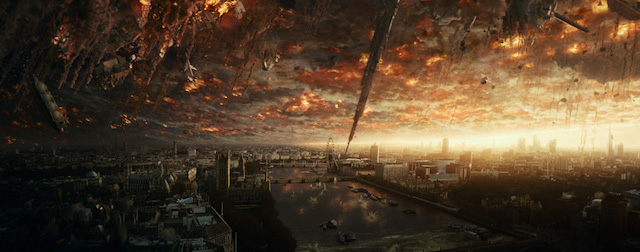 Independence Day Resurgence was showcased at the Fox CinemaCon presentation.