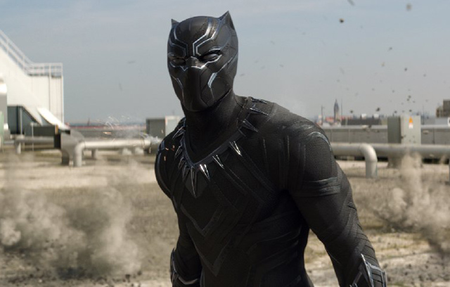 Black Panther Fights Winter Soldier in Behind-the-Scenes Photo from Civil War