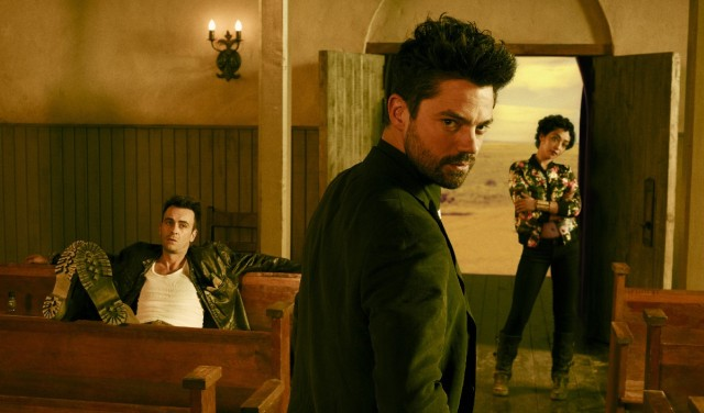 Behind-the-Scenes Videos for Preacher Take You to Church