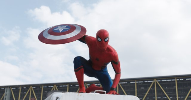 New Spider-Man Footage from Captain America: Civil War