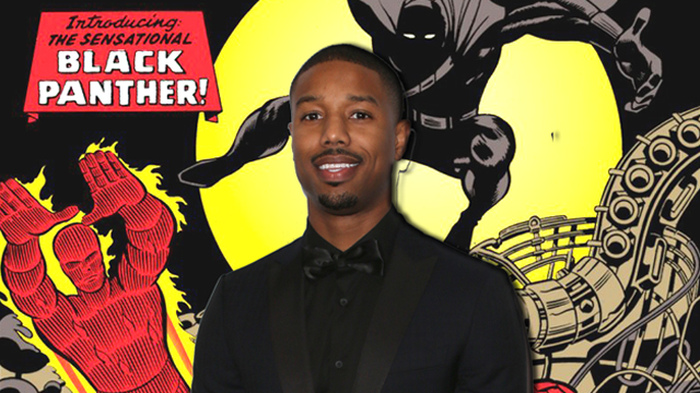 The Black Panther cast crows with the addition of Michael B. Jordan!