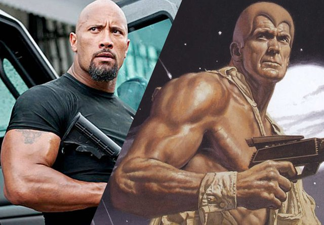 It's Official! Dwayne Johnson IS Doc Savage