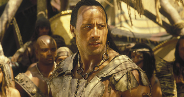 The Mummy Returns was one of the first Dwayne Johnson movies.