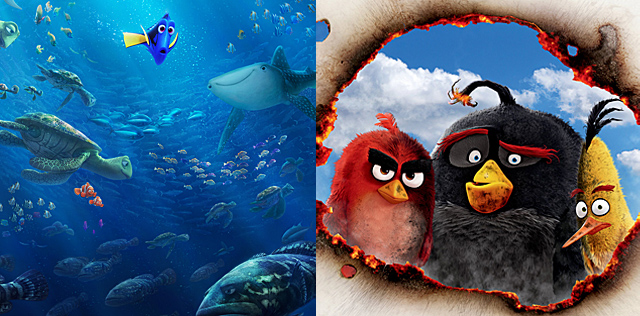 Happy Mother's Day from Finding Dory and The Angry Birds Movie