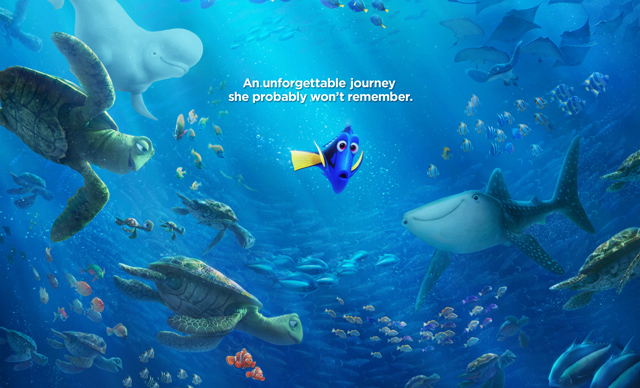 A New Finding Dory Trailer Surfaces