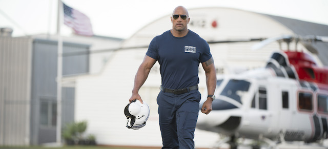 San Andreas is one of the more recent Dwayne Johnson movies.