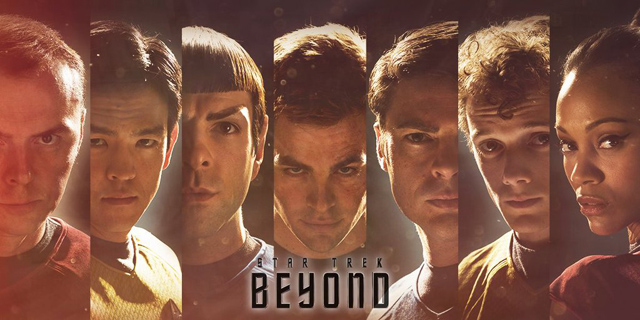 New Scotty, Sulu and Uhura Posters for Star Trek Beyond