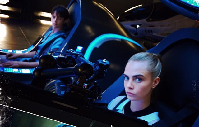 valerian photos revealed by director luc besson