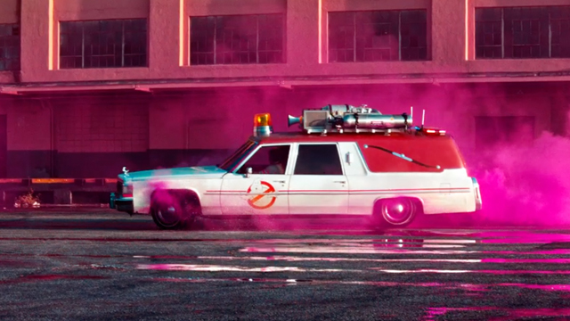 Ride in the ECTO-1 in a new Ghostbusters Lyft promotion.