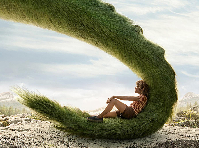 New Pete's Dragon Poster Tells a Tall Tail