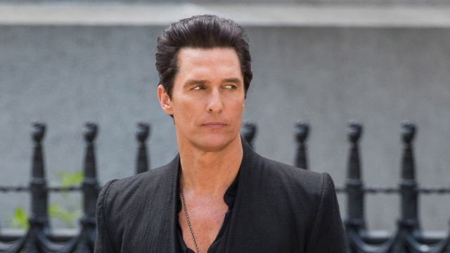 Photos of Matthew McConaughey as Randall Flagg on the Set of The Dark Tower!