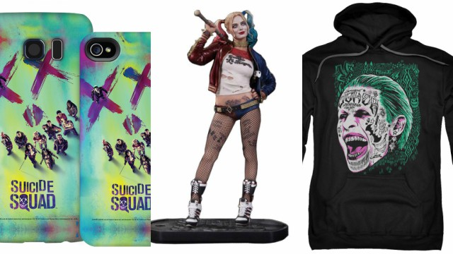 More Suicide Squad Merch Revealed by WB