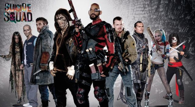Suicide Squad Promo Posters Bring the Team Together