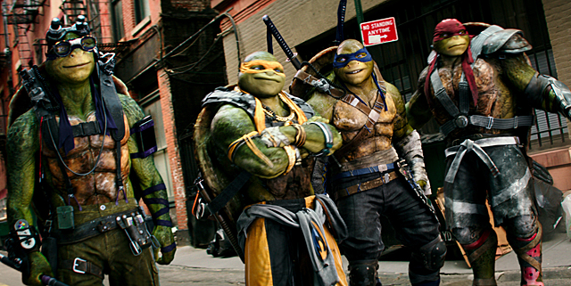 Teenage Mutant Ninja Turtles 2 Opens in First Place with $35.3 Million