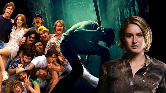 July 12 brings home Green Room, The Divergent Series: Allegiant, Everybody Wants Some!! and more!