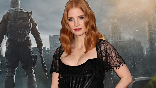 Academy Award nominee Jessica Chastain is in talks to play a leading role in the upcoming big screen adaptation of the Tom Clancy's The Division video game.