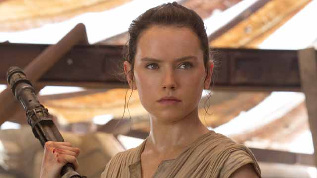 Check out Daisy Ridley's Rey hairstyle for Episode VIII!