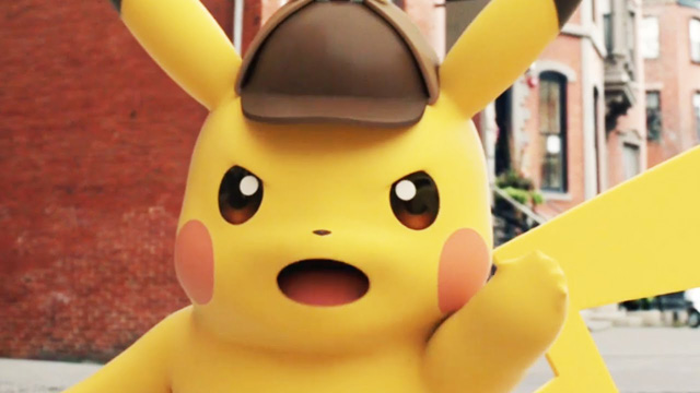 Legendary and Pokemon Co. to Create Live-Action Detective Pikachu