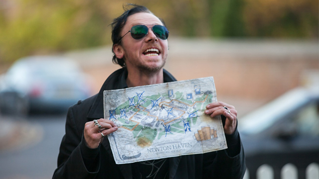 The World's End is one of the Simon Pegg movies on this list directed by Edgar Wright.
