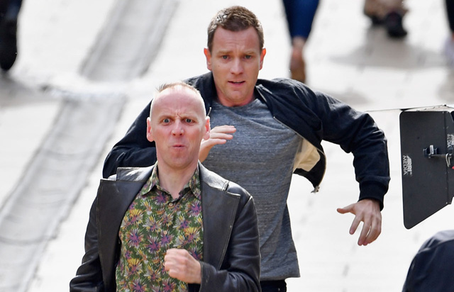 Trainspotting 2 Photos from the Filming in Edinburgh