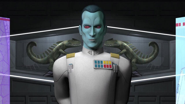 Dave Filoni discusses the arrival of Thrawn on Star Wars Rebels.