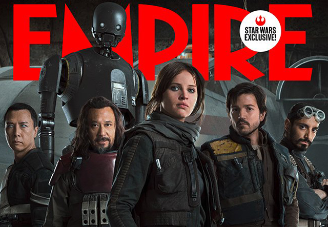 Rogue One Empire Cover Reveals the Battle Against the Empire