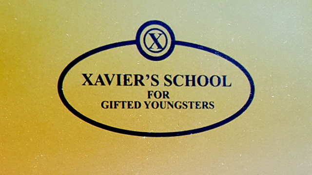 It seems that we've been accepted to Xavier's School For Gifted Youngsters! Check out the 1983 admissions packet that just arrived from 20th Century Fox.