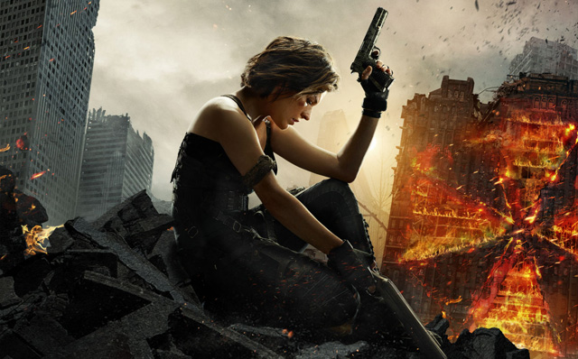 New Domestic Trailer and Poster for Resident Evil: The Final Chapter!