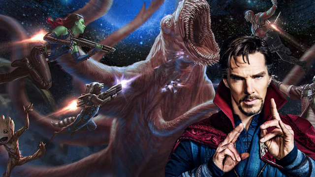 Is this a Doctor Strange Guardians of the Galaxy connection?