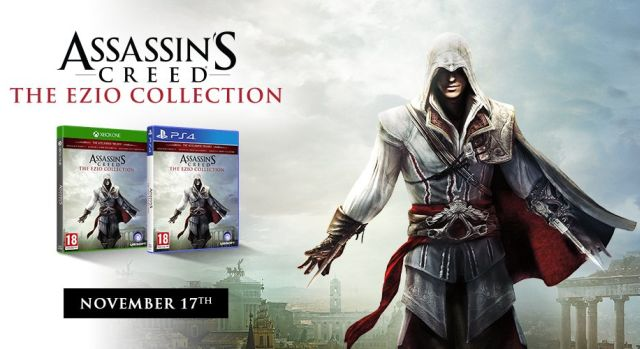 Assassin's Creed Ezio Collection Coming to PS4 and Xbox One