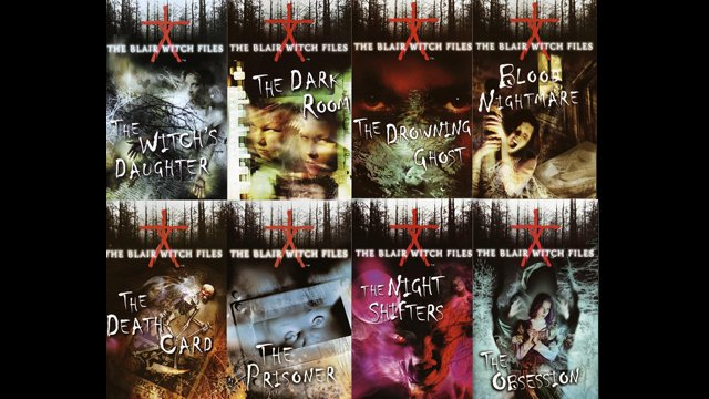 The Blair Witch legend continues in the eight-book Blair Witch Files series.