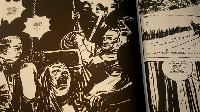 The Blair Witch legend continues in the Oni Press comic book series.
