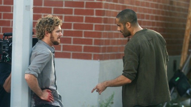 New Iron Fist Set Photos Show a Wounded Danny Rand