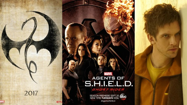 Marvel Television Bringing Iron Fist, Agents of SHIELD, and Legion to NYCC