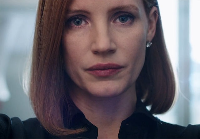 Jessica Chastain Fights Dirty in the Miss Sloane Trailer