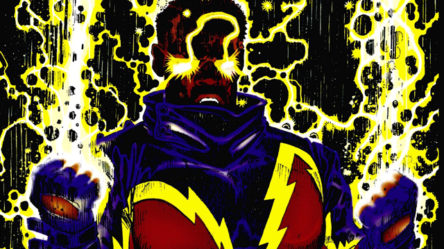 A Black Lightning TV series is in the works.