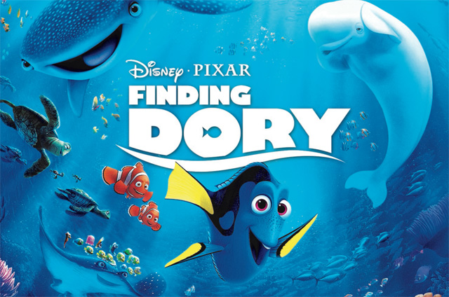 Finding Dory Digital HD and Blu-ray Release Dates Announced