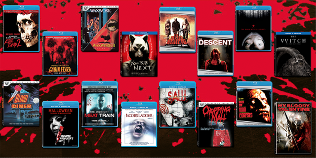 Enter to Win a Horror Movie Prize Pack for Halloween!