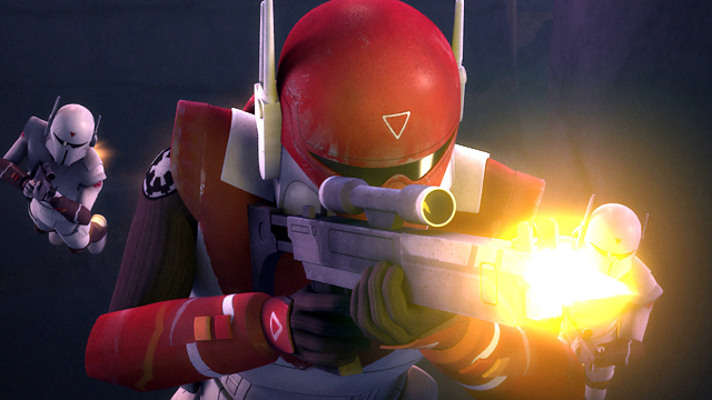Check out a scene from Star Wars Rebels 3x07, titled