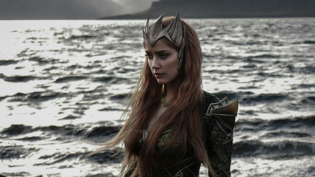 First Look at Amber Heard as Mera in Justice League!